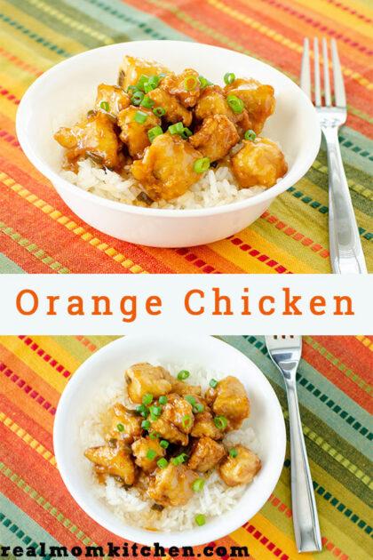 Orange Chicken | realmomkitchen.com