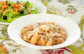 Ground Beef Gnocchi | realmomkitchen.com