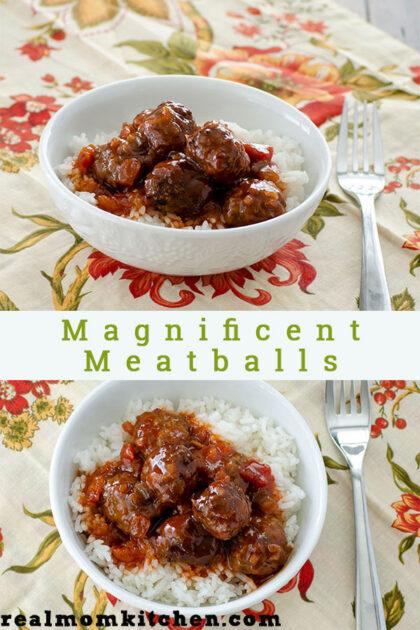 Magnificent Meatballs | realmomkitchen.com