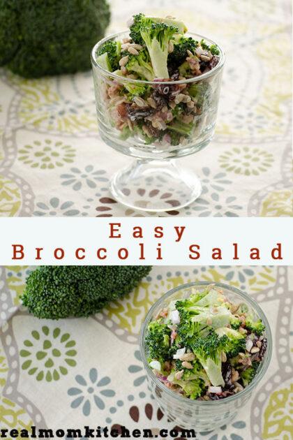 Easy Broccoli Salad | realmomkitchen.com