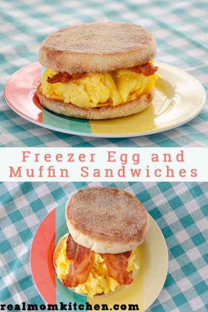 Freezer Egg and Muffin Sandwiches   realmomkitchen.com