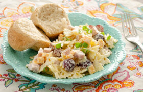 Ham and Cheese Pasta Salad | realmomkitchen.com