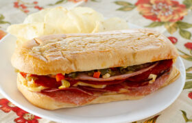 Hot Baked Italian Subs   realmomkitchen.com