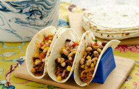 BBQ Pulled Pork Tacos | realmomkitchen.com