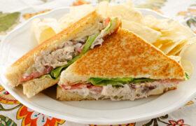 Grilled Chicken Salad Sandwiches   realmomkitchen.com