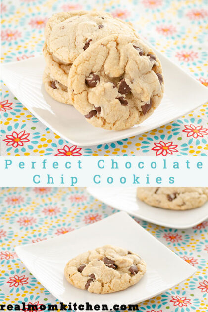 Perfect Chocolate Chip Cookies   realmomkitchen.com