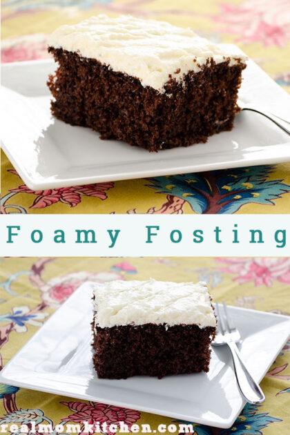 Foamy Frosting   realmomkitchen.com