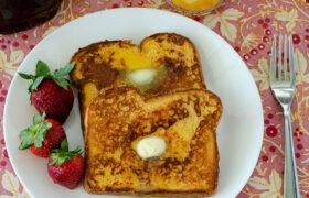 Vanilla Brown SUgar French Toast   realmomkitchen.com