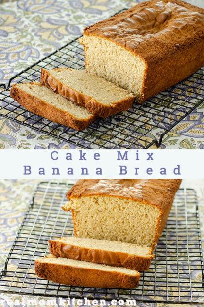 Cake Mix Banana Bread | realmomkitchen.com