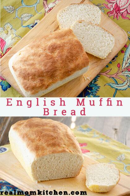 English Muffin Bread | realmomkitchen.com