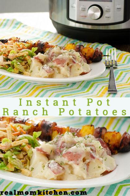 Instant Pot Ranch Potatoes | realmomkitchen.com