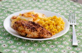 Air Fryer BBQ Chicken | realmomkitchen.com