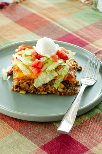 Beef Taco Casserole   realmomkitchen.com