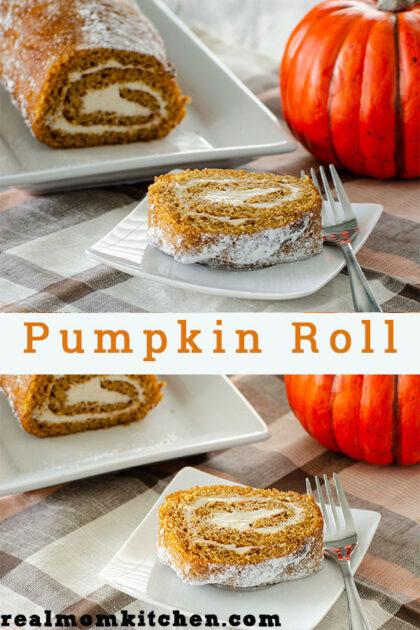 Pumpkin Roll   realmomkitchen.com