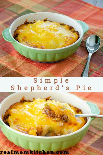 Simple Shepherd's Pie | realmomkitchen.com